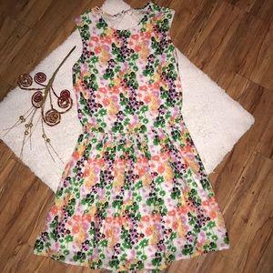 River island retro vintage floral sailor dress
